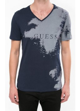 Tshirt col V Guess