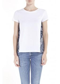 Tshirt effet foulard Liu Jo F17139J9125