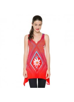 Tunique Desigual 61T25P7 rouge