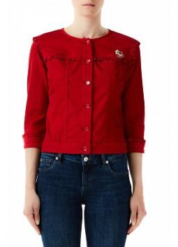 Veste rouge LIu Jo WA0285T4033