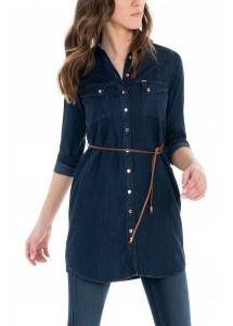 Chemise longue ou robe Salsa 118636