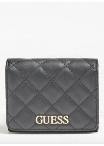 Mini portefeuille Illy Black Guess SWVG79