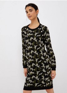 Robe courte camouflage Liu Jo TF1202