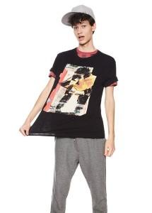 T shirt  Desigual 18SMTK19