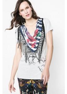 T Shirt Desigual 61T24Q7 2042 Gris Vigore