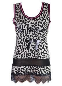 Top d�bardeur Nana Nucci SP620 motifs l�opard