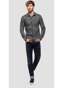 Chemise noire Replay M4953P