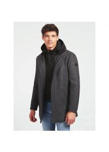Manteau en laine mélangée Guess