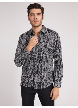 Chemise luxe Journal Guess M1BH17