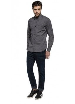 Chemise Replay M4913 Grise