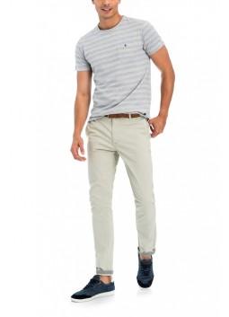 Pantalon chino Salsa 119138