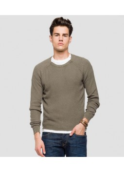 Pull Replay UK1755.G21280G.438 olive