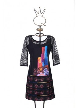 Robe Save the Queen avec filet
