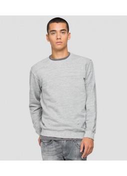 Sweat-shirt en coton Replay M3440