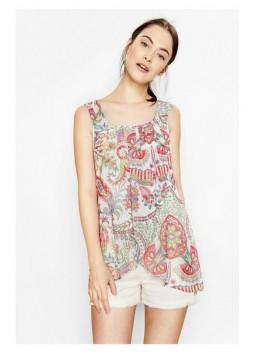 T shirt Desigual 74B2EN8 Lorna