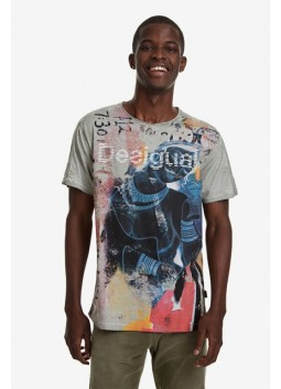 T shirt Eugenio Desigual 19WMTK83