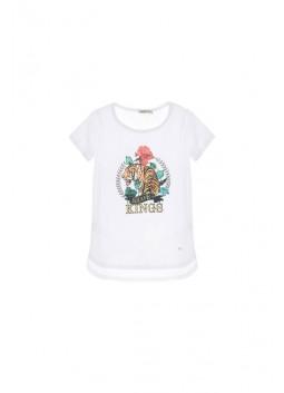 T-shirt imprimé Please Fashion