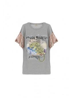 T-shirt Please Fashion T572420013