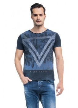 T Shirt Salsa 113081 imprimé