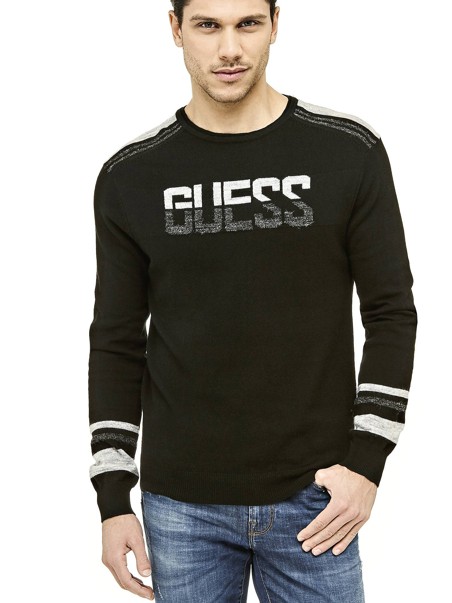 89d335f612f1 Pull homme Guess M74R56Z1PZ0