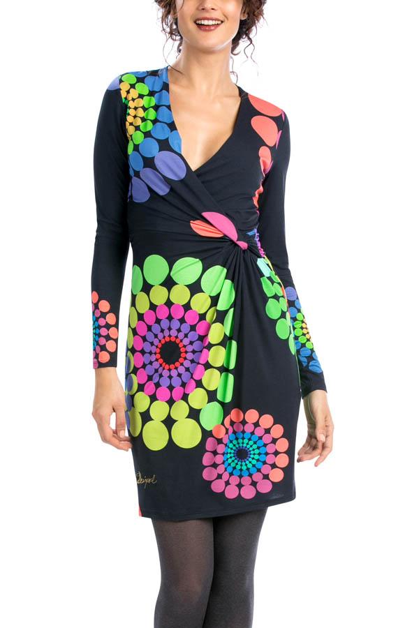 robe desigual 56v20n3 charly robe fleurs disponible sur. Black Bedroom Furniture Sets. Home Design Ideas