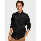 Chemise noire Scotch and Soda 152183