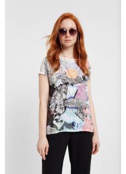 T-shirt Viena Desigual 20SWTK92